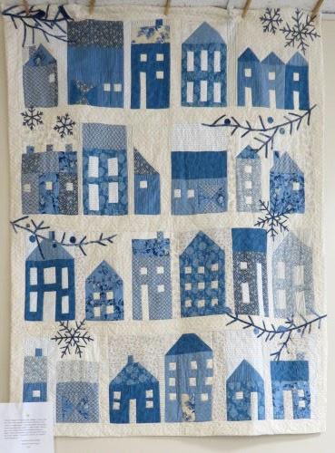 winter village quilt