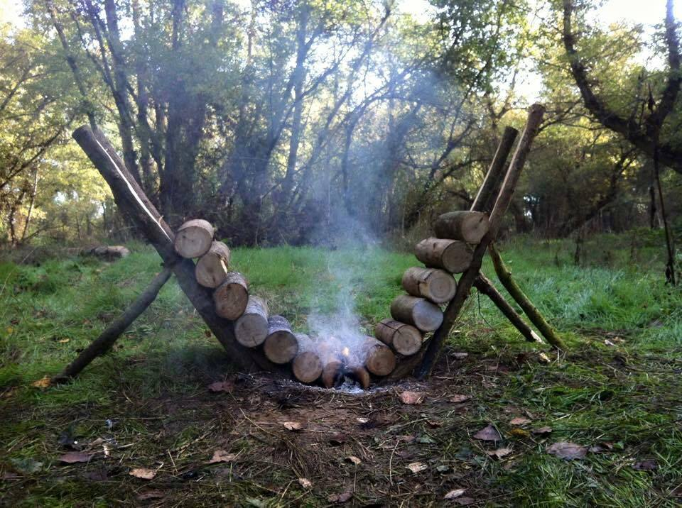 How to Build an Efficient Self-Feeding Fire that Burns for 14 hours Plus!
