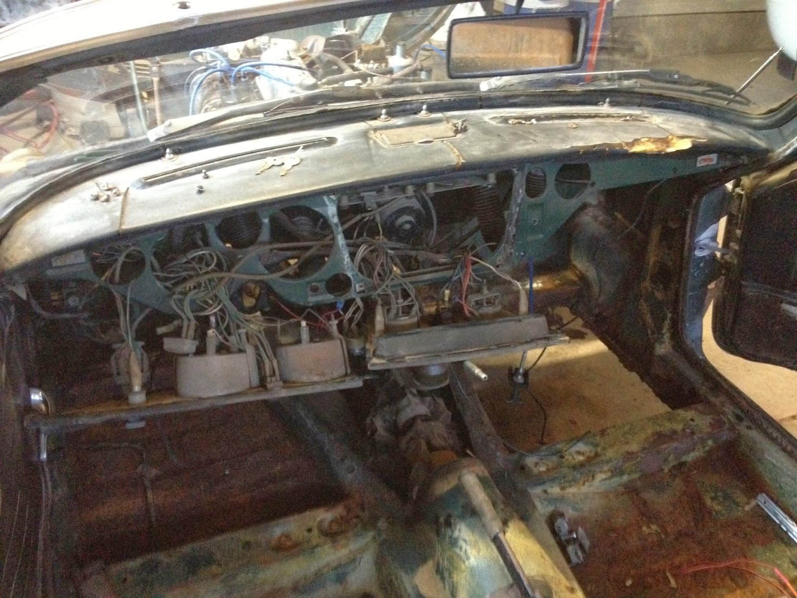 1969 Triumph Spitfire MK3 Project: Wiring woes - here we ...