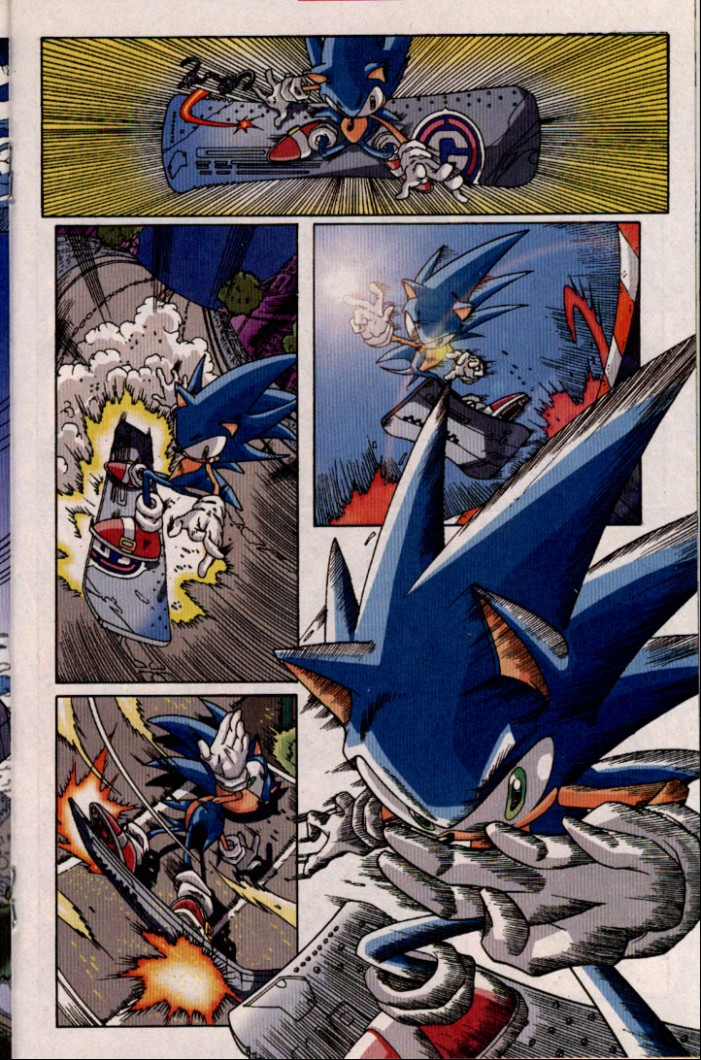 Read online Sonic The Hedgehog comic -  Issue #98 - 16