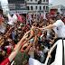 multidão vai às ruas por Haddad e Rui Costa em Vitória da Conquista; veja as imagens inéditas