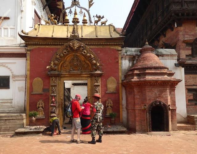 Porta d'oro a Bhaktapur