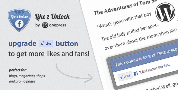 Download Like 2 Unlock for WordPress Plugin v4.7.2