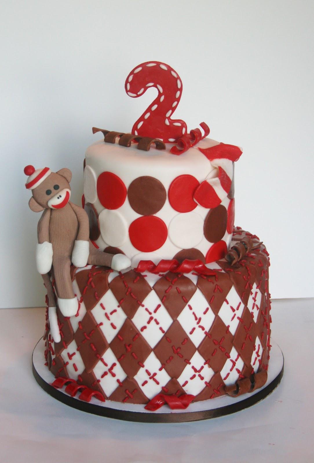 And Everything Sweet: Sock Monkey Cake