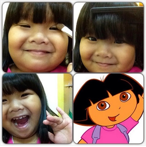 Child star Ryzza Mae Dizon popular #MakeUpTransformation