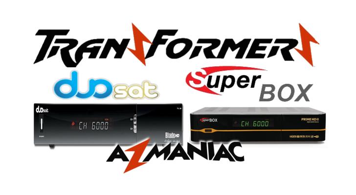 Superbox Prime HD 2 Transformado em Duosat Blade HD Black Series