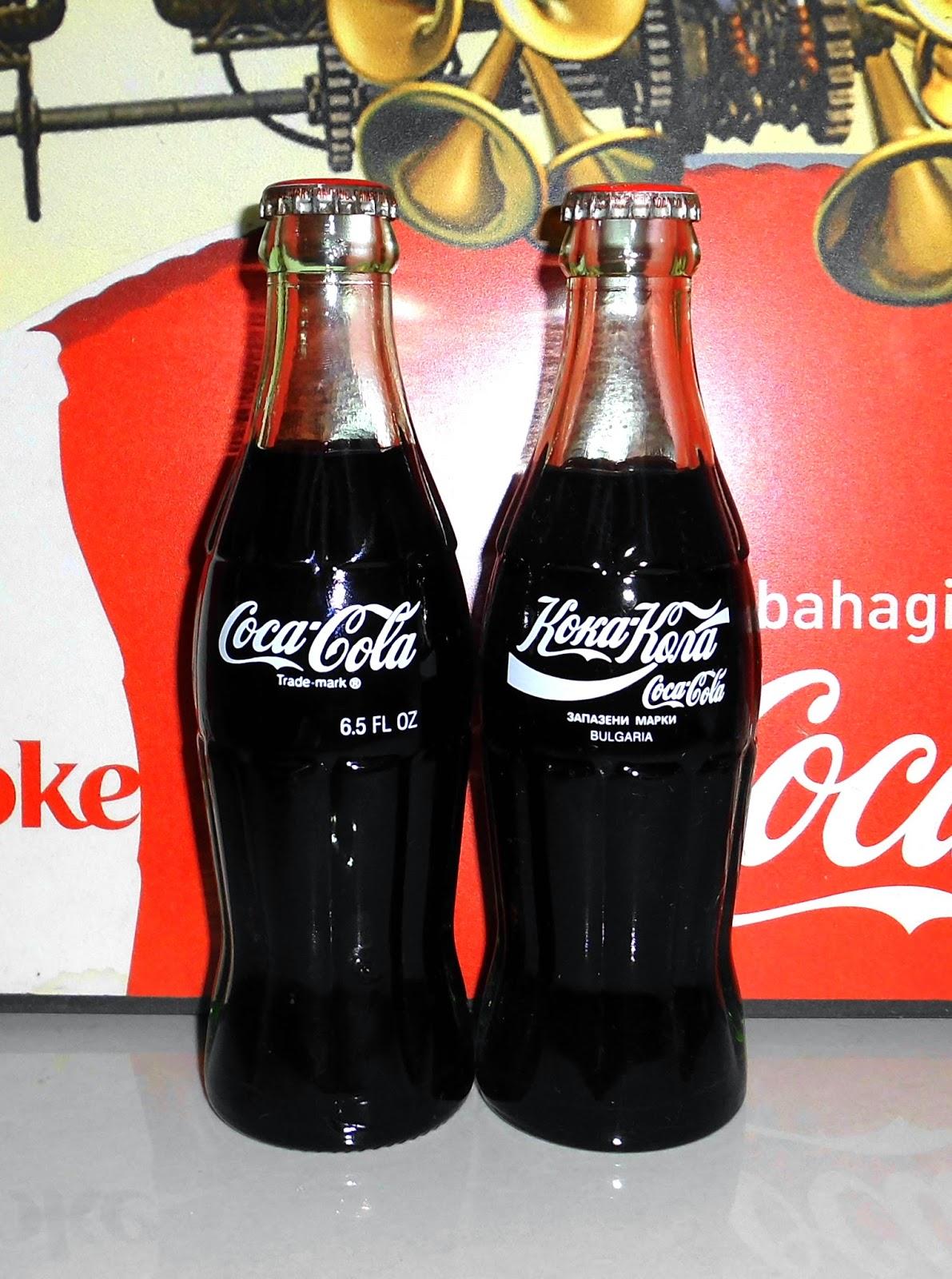 Coca Cola International Language Christmas 6 5oz Bottle