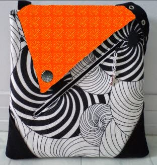 Hot Hues Convertible Crossbody Fooler Bag by eSheep Designs