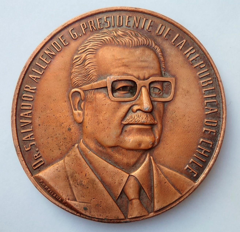 Medalla presidencial salvador allende medallas chile - Casa de la moneda empleo ...