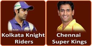 आइपीएल 6 का छब्बीसवां मैच Eden Gardens, Kolkata में होने जा रहा है।