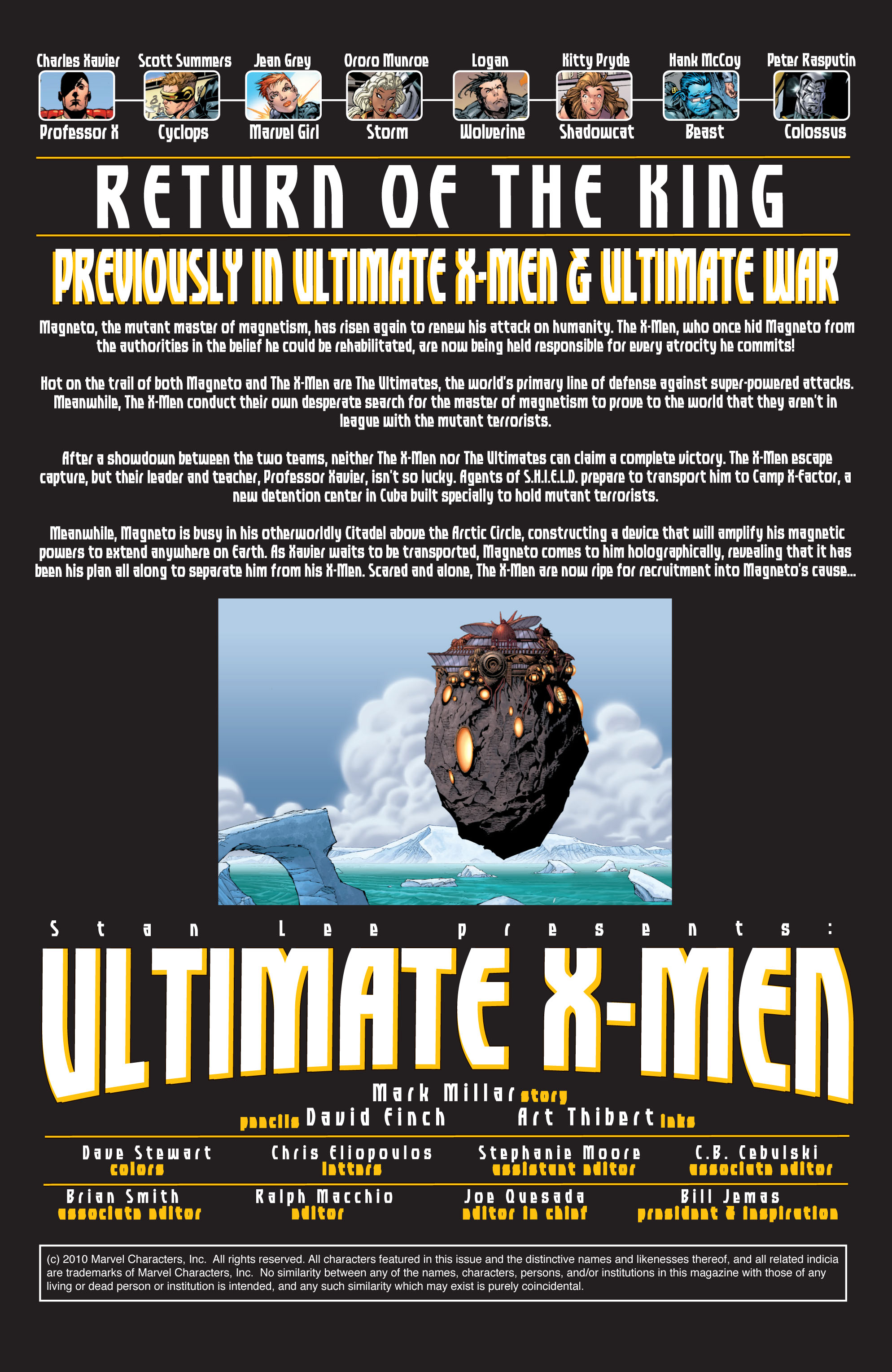 Read online Ultimate X-Men comic -  Issue #28 - 2