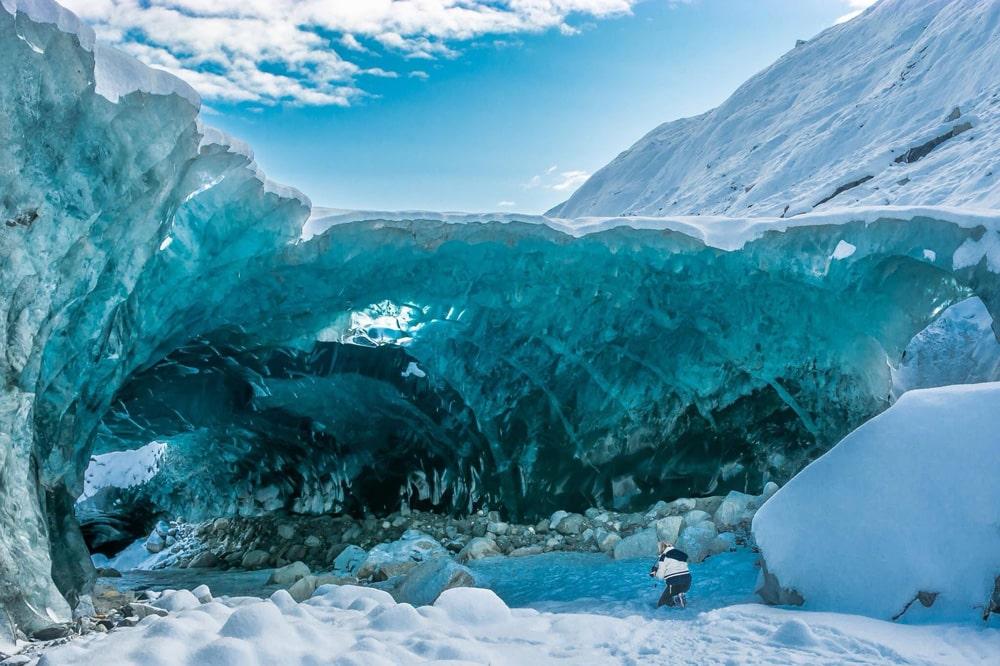 Достопримечательности Аляски: ледник Менденхолл