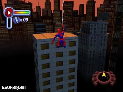 game ps1 spiderman2