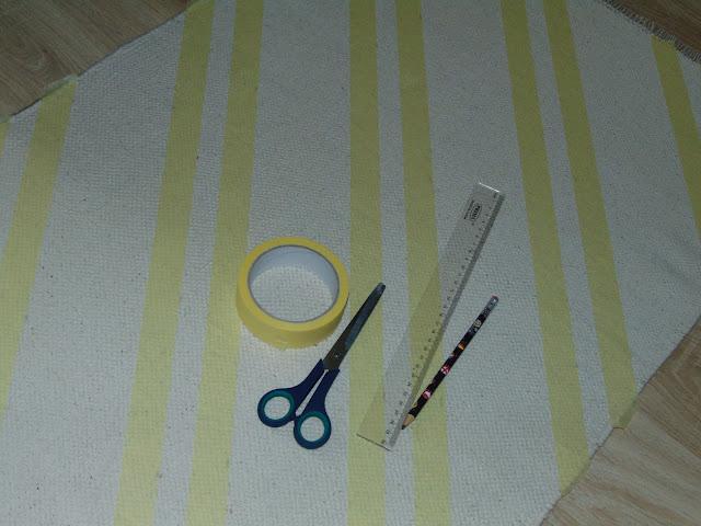 malowanie dywanu emalią