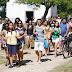 Chegada da Tocha Olímpica contagia moradores e turistas