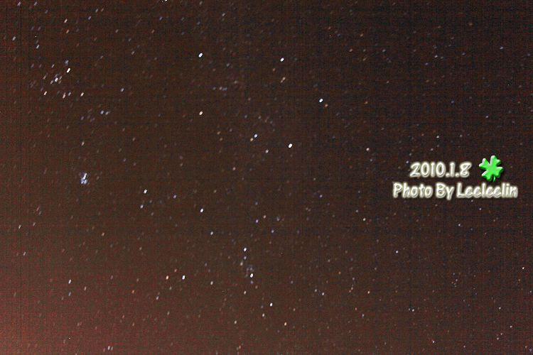 廬山銀河流星夜景|觀月山莊星軌拍攝