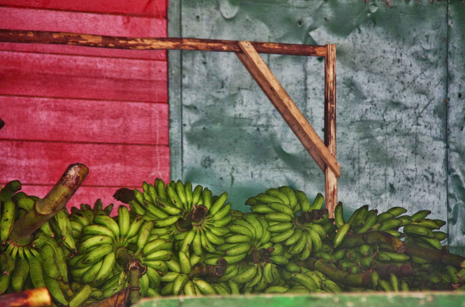 Frutas em exposição no mercado de Tefé.