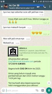 Testimoni CUG Telkomsel Kartu Pasangan Kartu Komunitas Kartu Soulmate Kartu Couple 11 Januari 2019