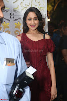Pragya Jaiswal in Stunnign Deep neck Designer Maroon Dress at Nakshatram music launch ~ CelebesNext Celebrities Galleries 075.JPG