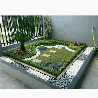 contoh taman rumah