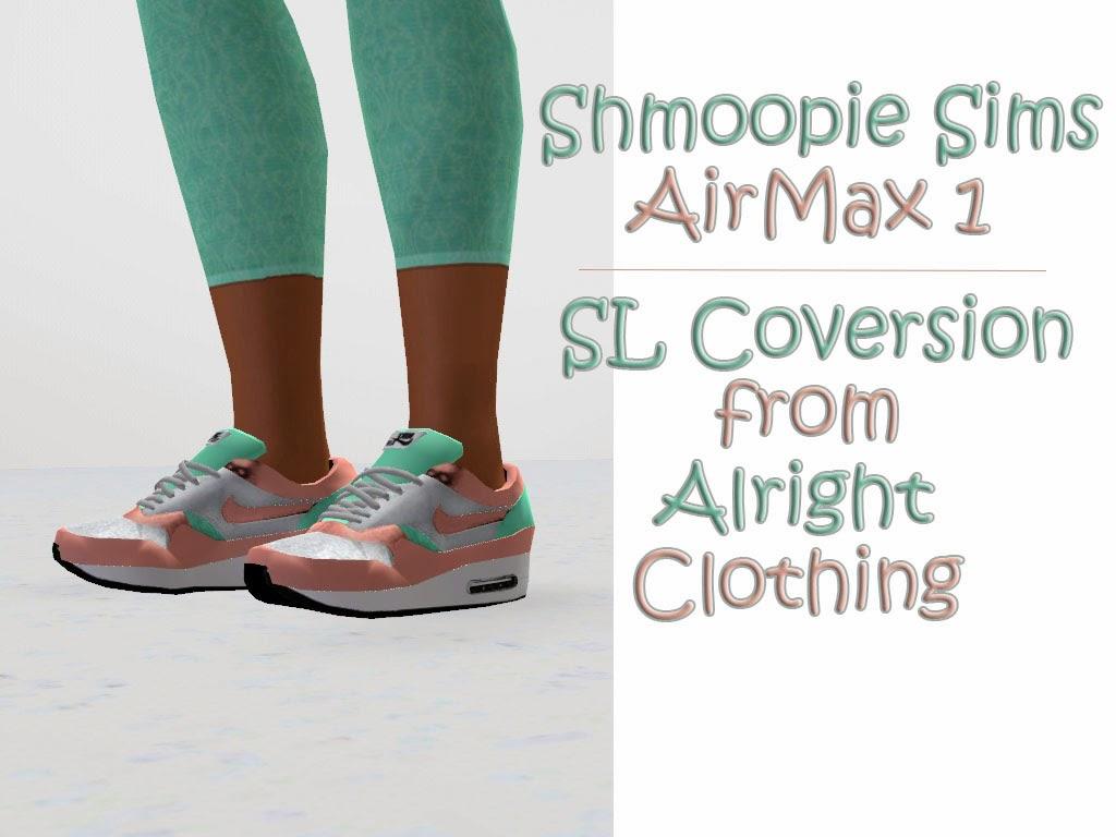 My Sims 3 Blog: Nike Air Max by Shmoopiesims