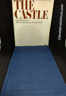 franz kafka the castle modern library without dusk jacket cloth binding ml logo embedded