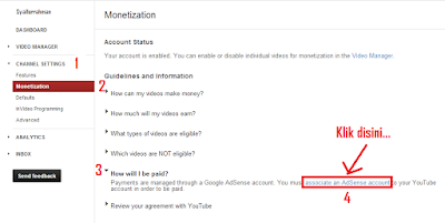 Bagaimana Cara Monitize Youtube Adsense