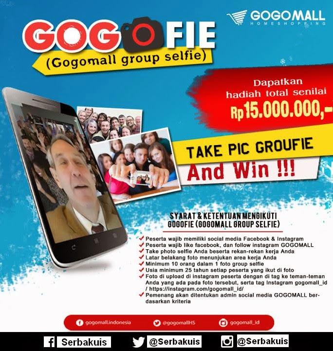 Kontes Foto Gogofie Berhadiah Total 15 Juta Rupiah