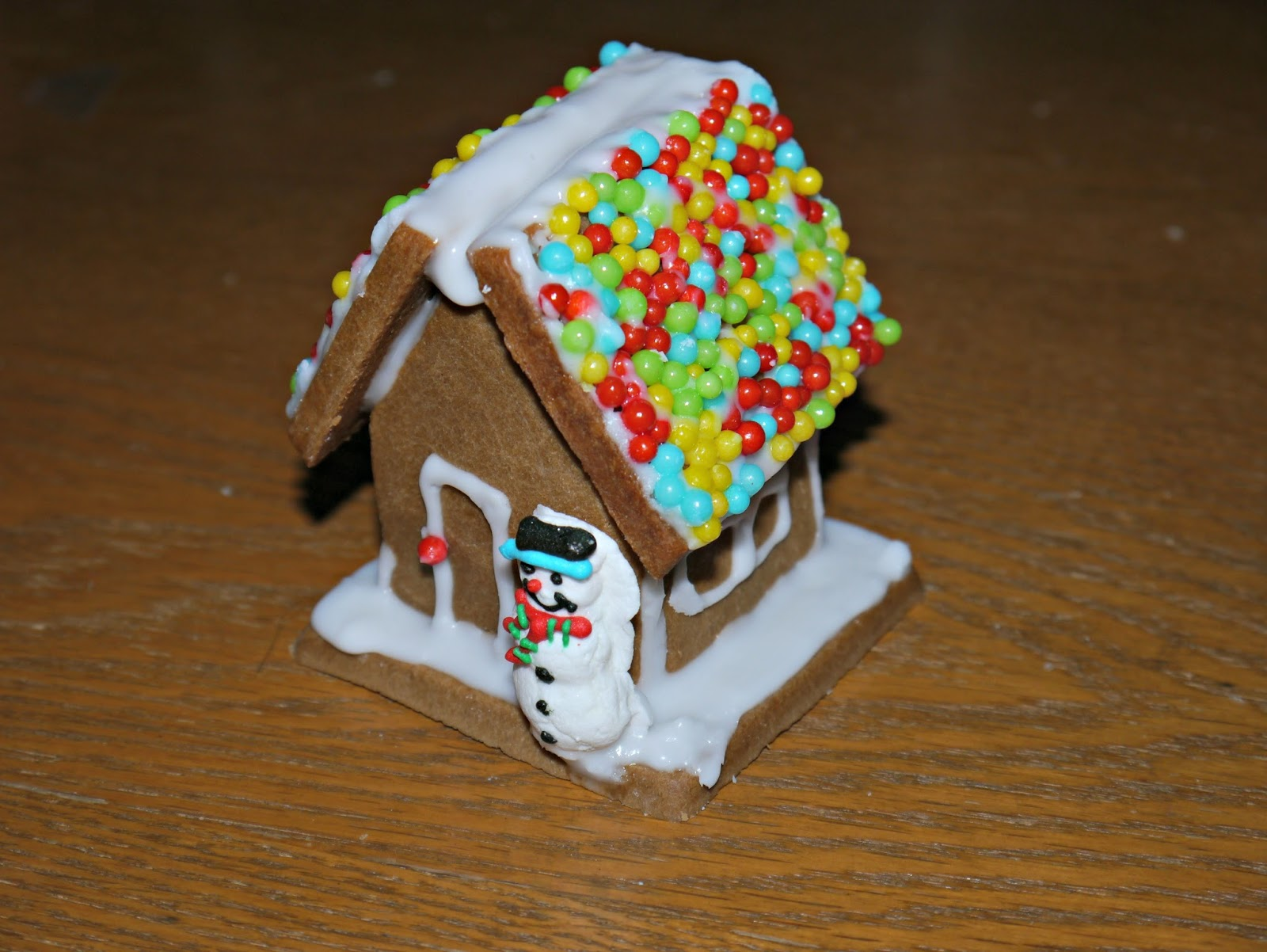 Decorating A Gingerbread House Holidays With Hannah