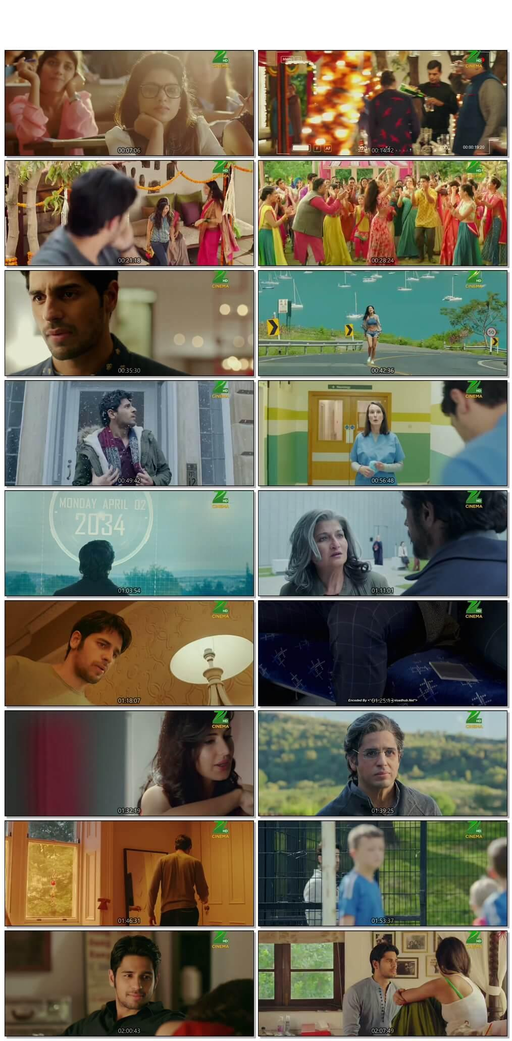Screen Shot Of Baar Baar Dekho  2016 Full Movie Free Download HD 720P Watch Online