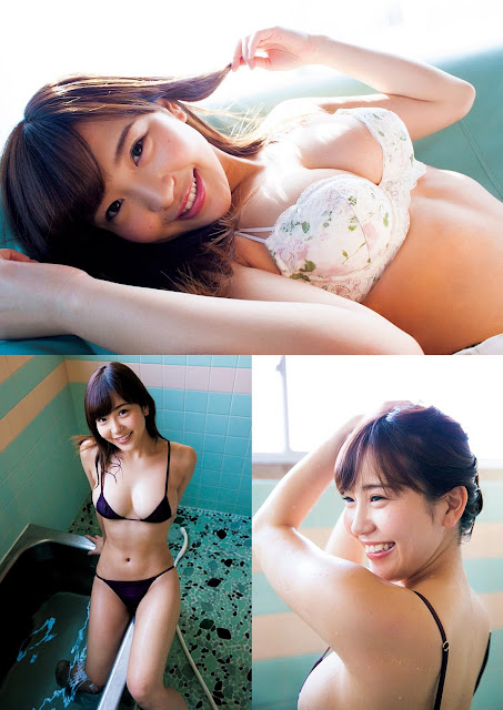 Ishihara Yuriko 石原佑里子 Weekly Playboy March 2017 Images