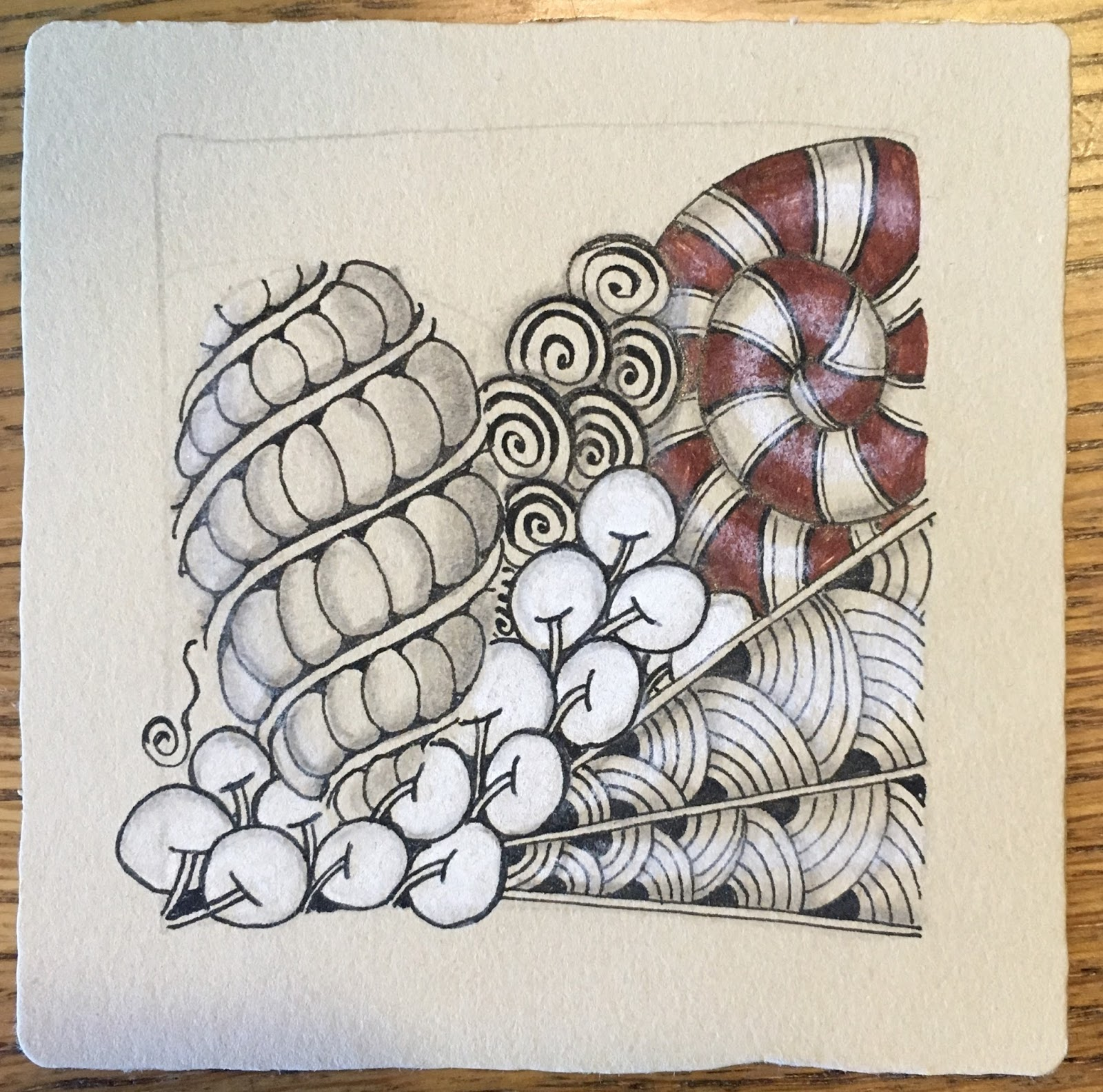 A Reminder To Embrace Your Zentangle Practice