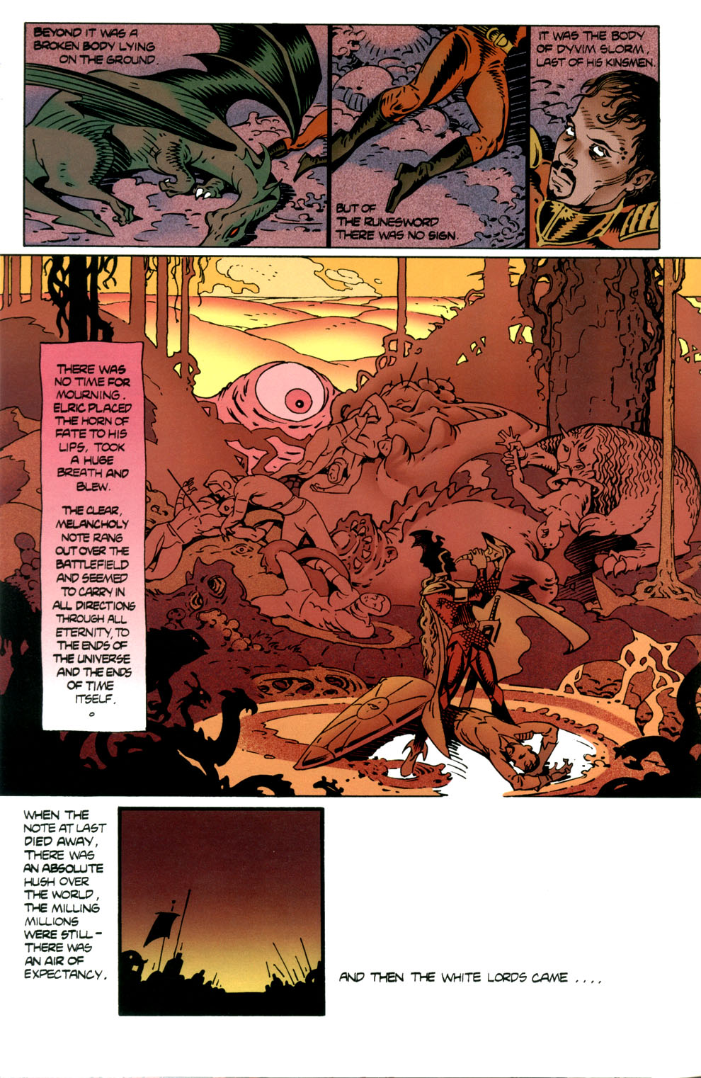 Read online Elric: Stormbringer comic -  Issue #7 - 10