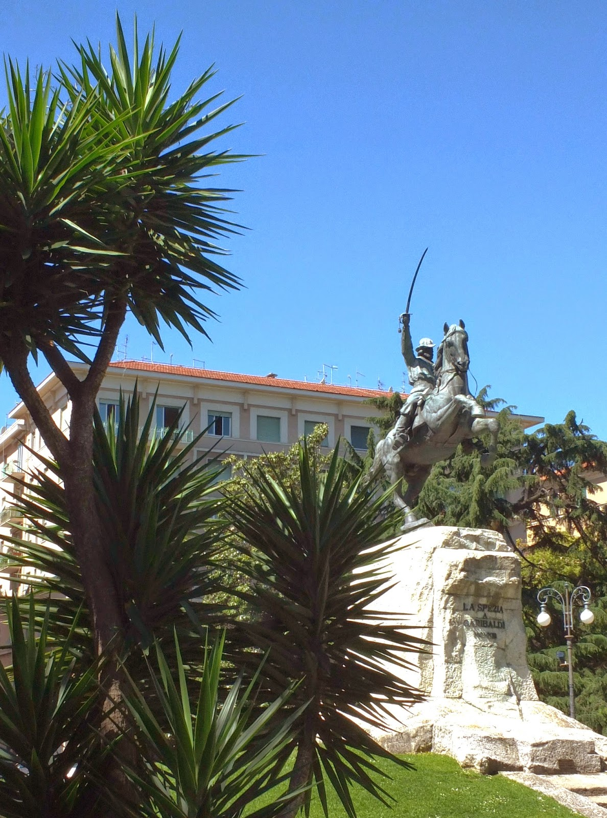 La Spezia Public Gardens & Garibaldi