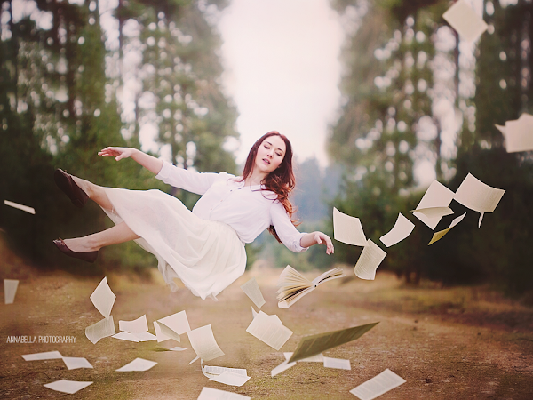 Levitation Photography Session & Flying Dreams Photo Overlays