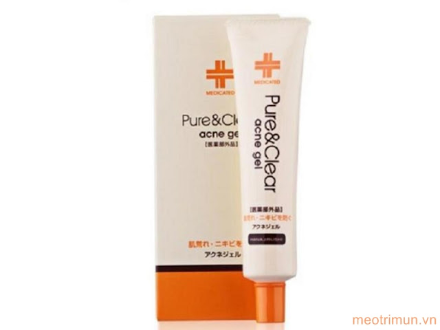 Gel trị mụn Hanajirushi Acne Gel Pure & Clear