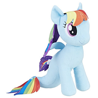 My Little Pony the Movie Princess Rainbow Dash Sea-Pony Cuddly Plush