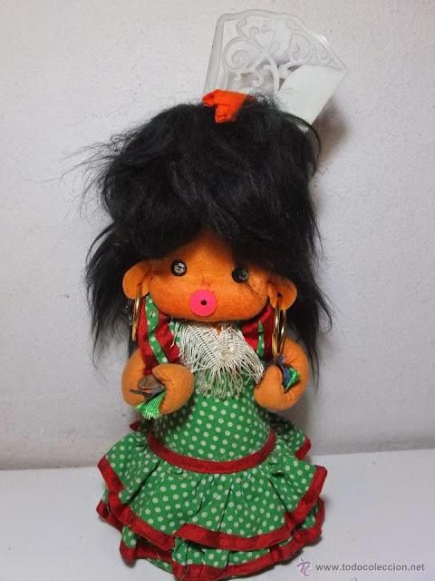Resultado de imagen de muñeca bombonera años 70