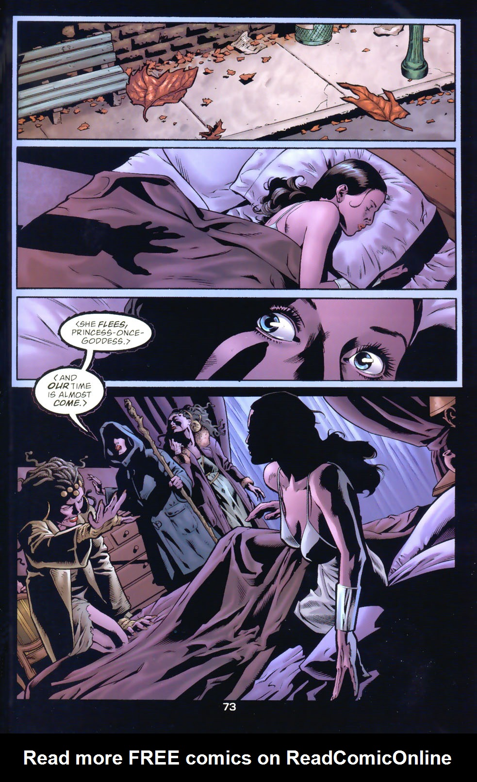 Read online Wonder Woman: The Hiketeia comic -  Issue # Full - 83