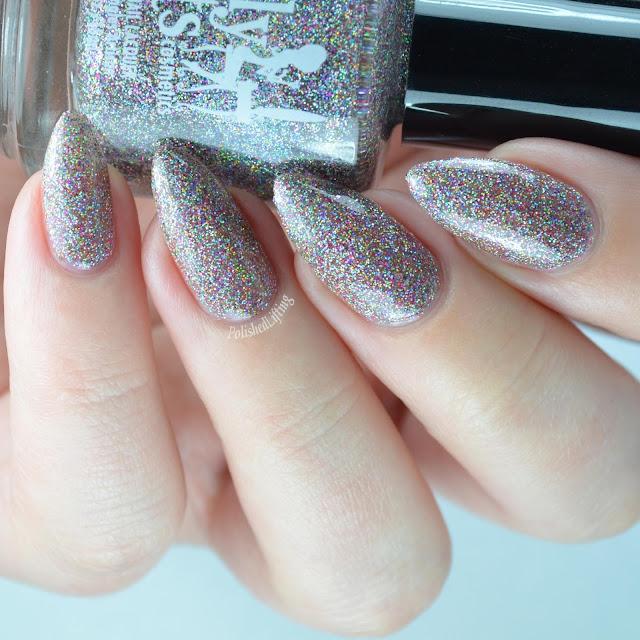 sparkly glitter nail polish