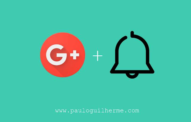 Como ativar notificações de comunidades do Google+