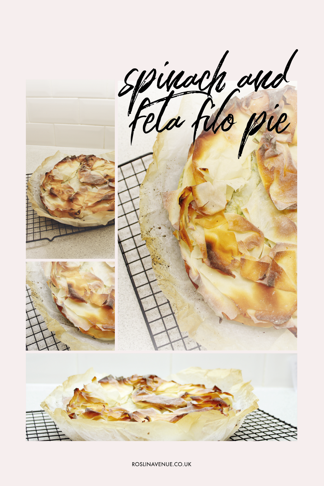 Recipe for Jamie Oliver spinach and feta filo pie, 15 minute meals