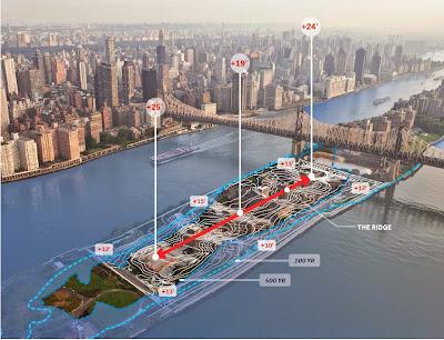 Roosevelt Island NY sea-level rise resiliency