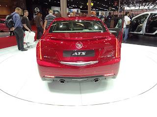2013 Cadillac ATS back
