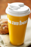 FREE yellow travel mug...