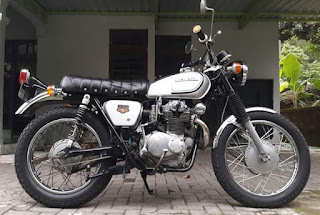 Untuk dijual Honda CL350 k4 1972