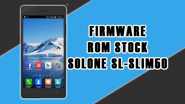 rom stock Solone SL-SLIM50