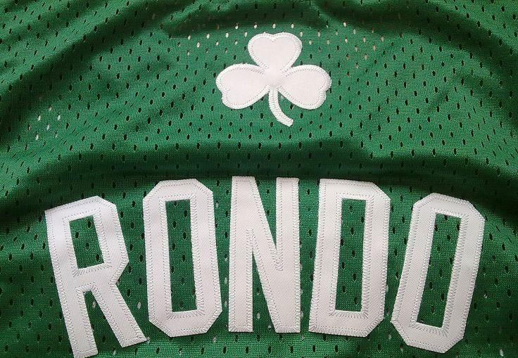 new concept a667b 90e13 Celtics Life: Rondo #6 most popular NBA jersey