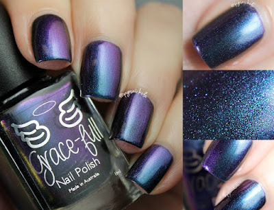 Grace-Full Nail Polish Lake Town | Going On an Adventure Trio