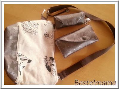 Tasche Milow, Geldbeutel Allin, Einkaufschiptäschchen, Card-Tasche und Brillenetui